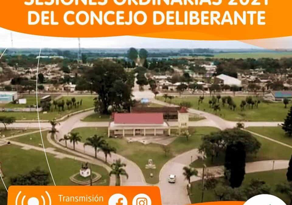Acto Apertura Sesiones Ordinarias Consejo Deliberante 2021